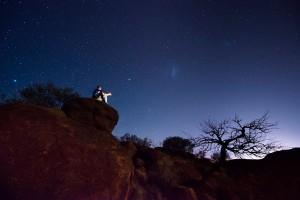 An endlessly starry night in Alice Springs