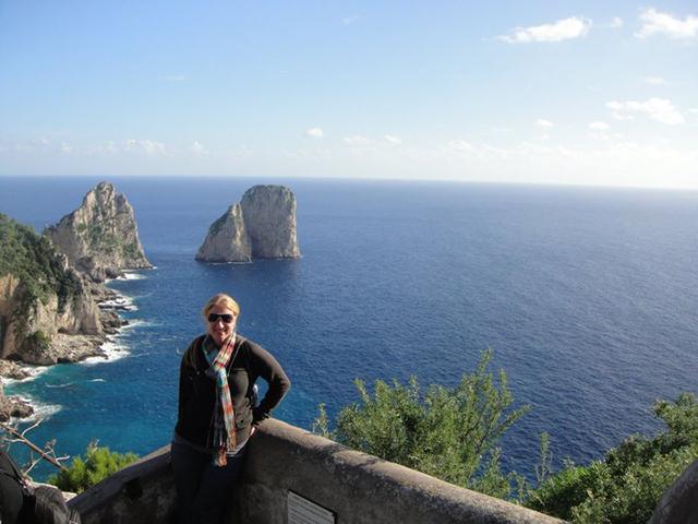 Ashley in Amalfi
