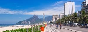 Ipanema Beach, Rio di Janeiro, Bazil