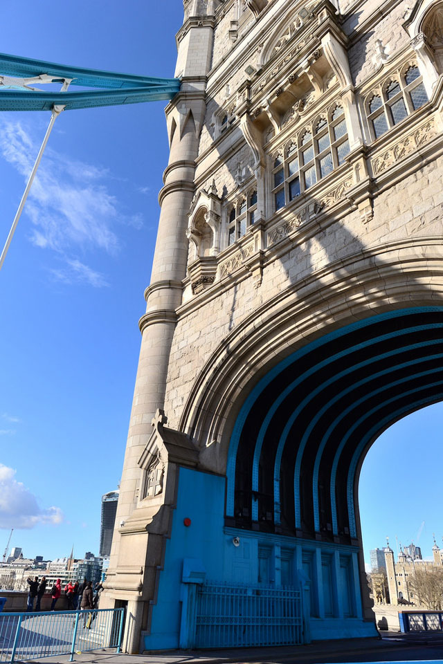 Tower Bridge from below