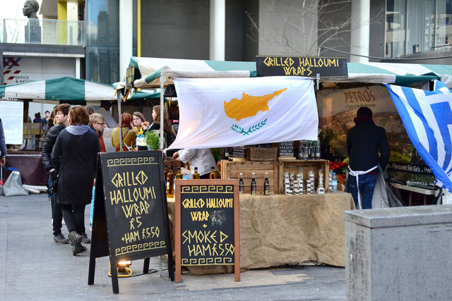halloumi stand london