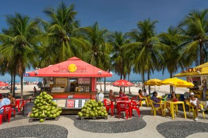 The colors and flavors of Rio's beaches
