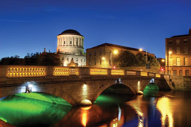 Dublin, Ireland on St Patrick's Day