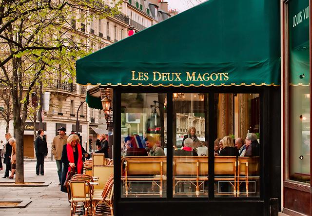 Les Deux Magots Paris bar