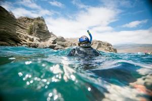 Snorkeling in the Galápagos Islands