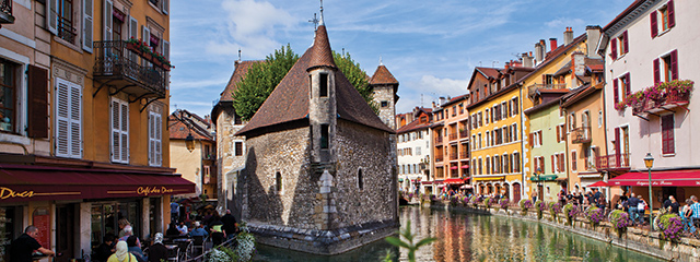 Ef Go Ahead Tours Travel Blog: Annecy Island – Annecy, France