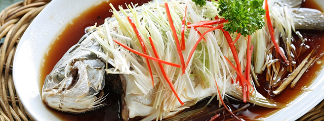Fish is symbolic during Chinese New Year.
