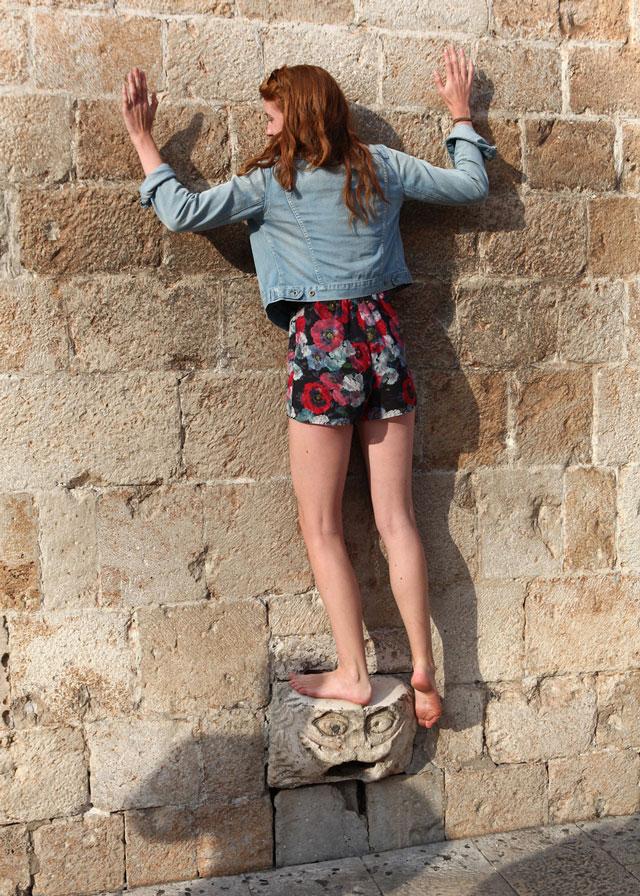 The Balancing Stone, Dubrovnik, Croatia