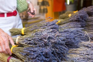 Local lavender for sale in Provence, France