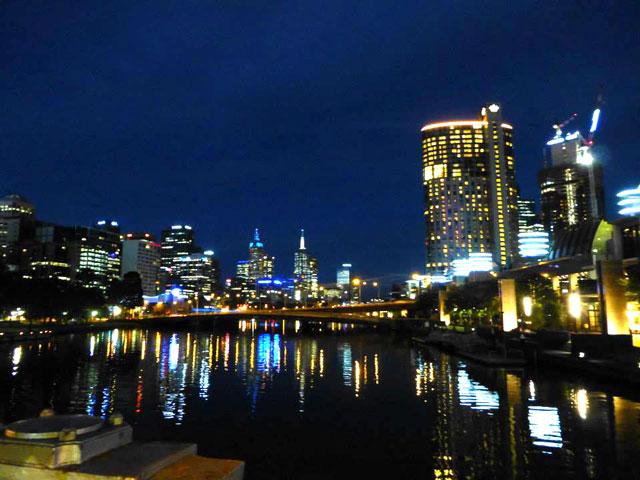 Melbourne-Australia-Night