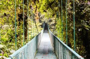 Skywalk in Monteverde cloud forest, Costa Rica