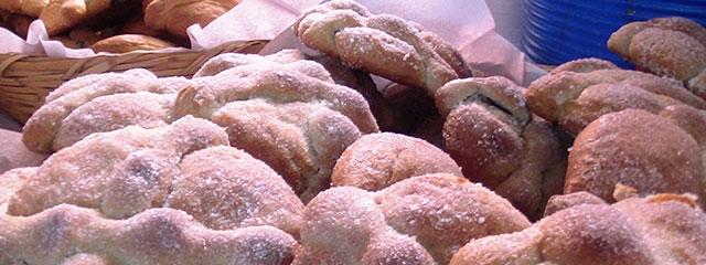 Pan de Muerto for a Dia de los Muertos celebration.