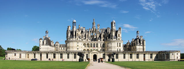Chateau Chambord, Loire Valley, France