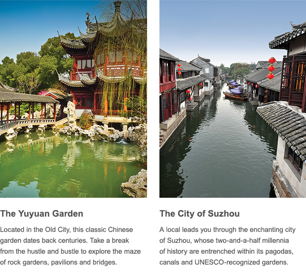 Shanghai's Yuyuan Gardeb & Suzhou