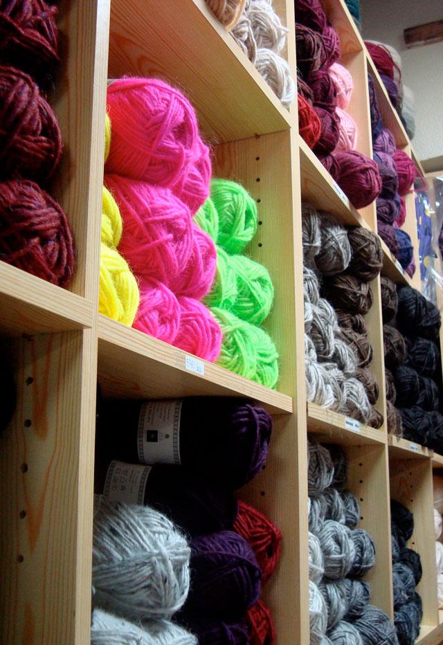 Yarn in Iceland