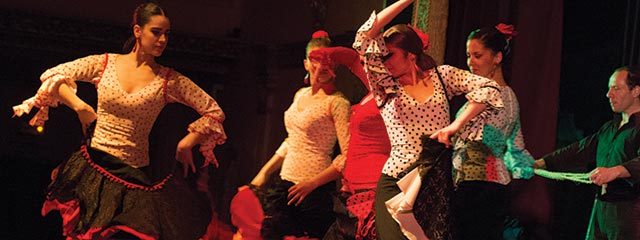 Flamenco show in Seville, Spain.