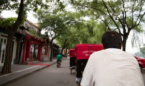 Rickshaw ride, Beijing, China