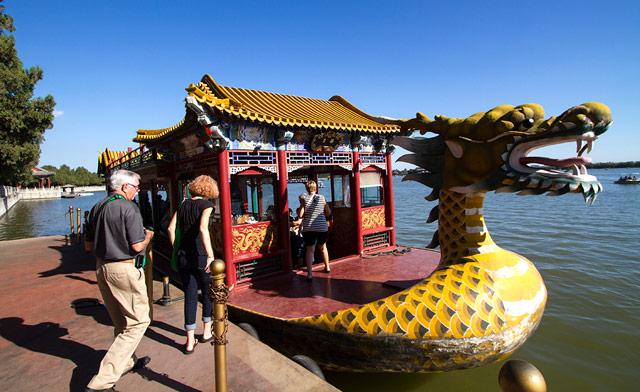 Summer Palace Ferry, Beijing, China
