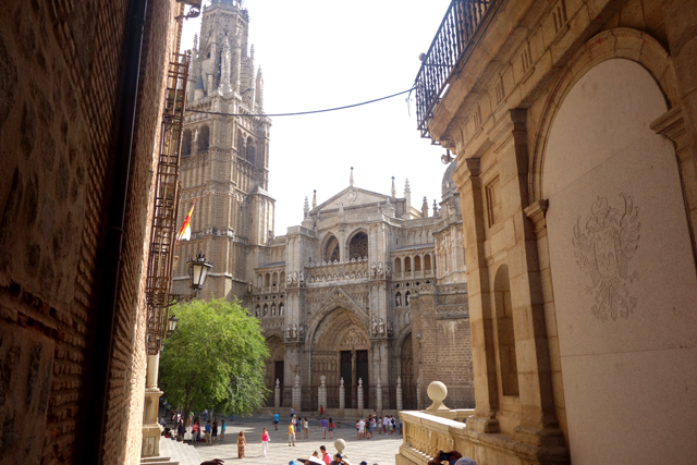 Gothic Cathedral, Old Town, Toledo, La Mancha, Spain