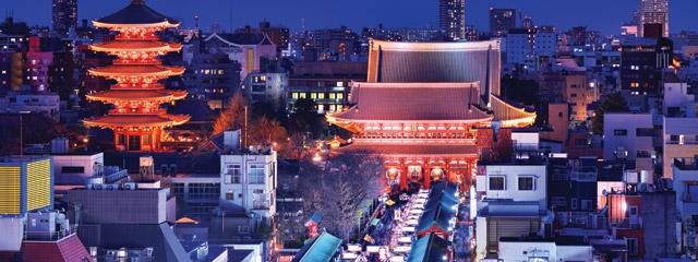 Tokyo Japan by night