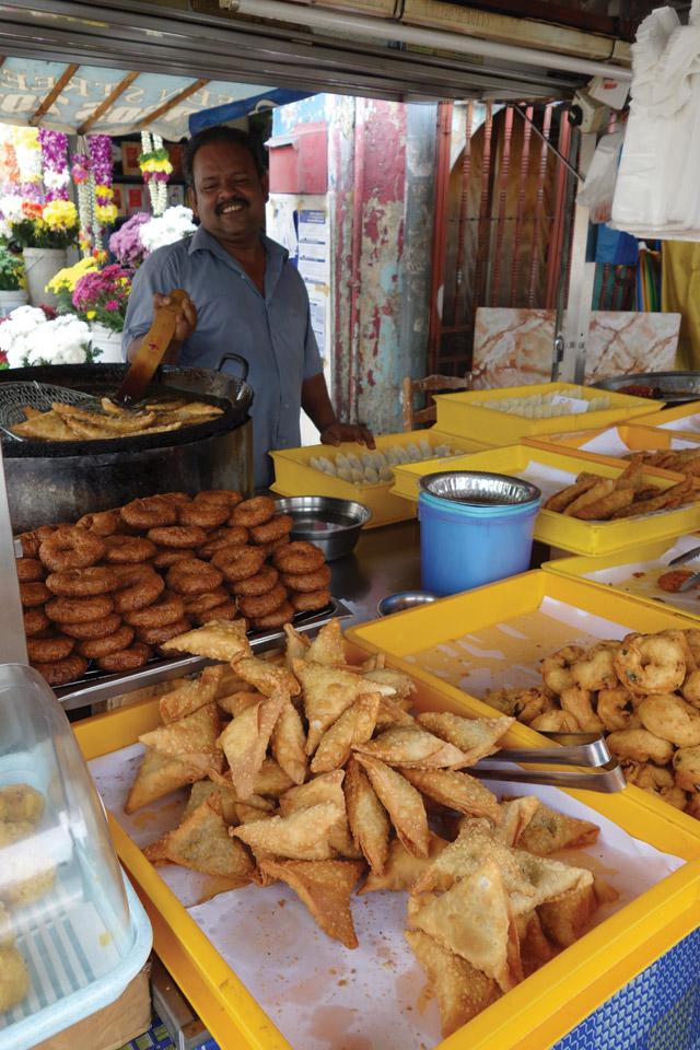 Indian street food, Penang, Malaysia