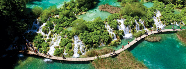 Lake Plitvicka, Plitvice Lakes National Park,Croatia