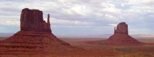 The Mitten Buttes, Monument Valley, Navajo County, Arizona