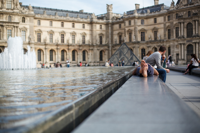 Louvre, Paris, France by Stacey Wei
