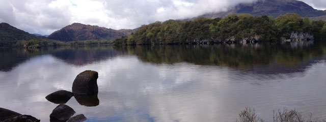 Muckross Lake in Killarney National Park, Ireland