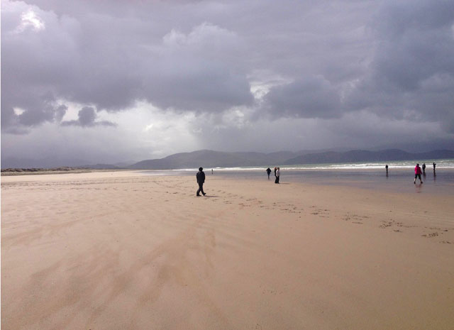 Inch Strand on the Dingle Peninsula, Ireland