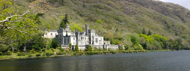 Kylemore Abbey in Galway, Ireland