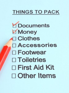 6 quick packing tips