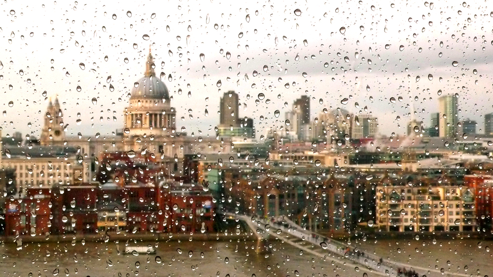 A Rainy Day in London.