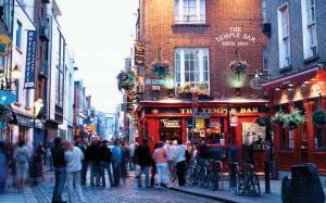 Pub in Temple Bar, Dublin, Ireland