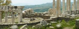 Pergamon Acropolis, Bergama, Turkey