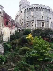 Gardens of Windsor Castle, England