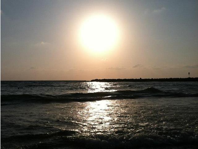 Mediterranean Sea, Tel Aviv, Israel