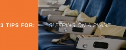 3 Tips for sleeping on a plane