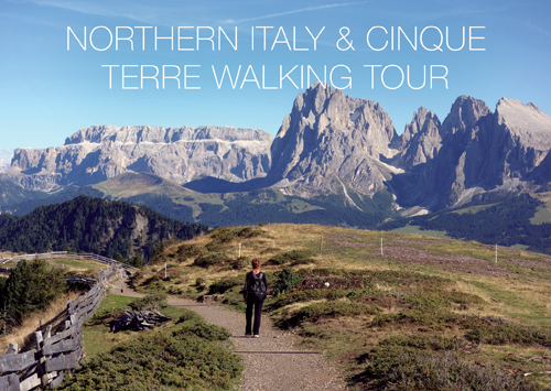Walking Tour of Northern Italy and Cinque Terre