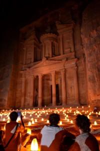 Treasury at Night, Petra