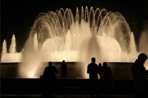 Magic Fountain, Placa Espanya, Barcelona, Spain