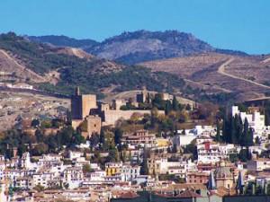 Ascend Sabika Hill to visit Granada's Alhambra