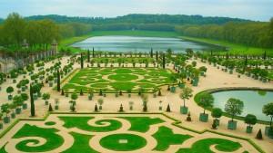 Stroll through the gardens of Versailles
