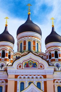 Tallinn's Alexander Nevsky Cathedral.