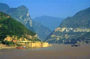 The Yangtze gorges