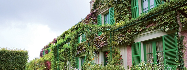 Follow in the footsteps of Monet at Giverny