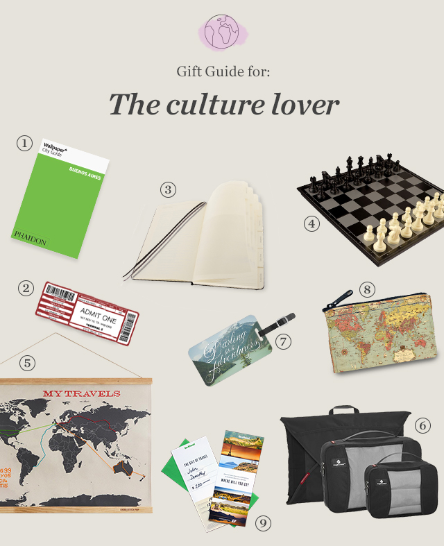 Gift Guide for the culture lover