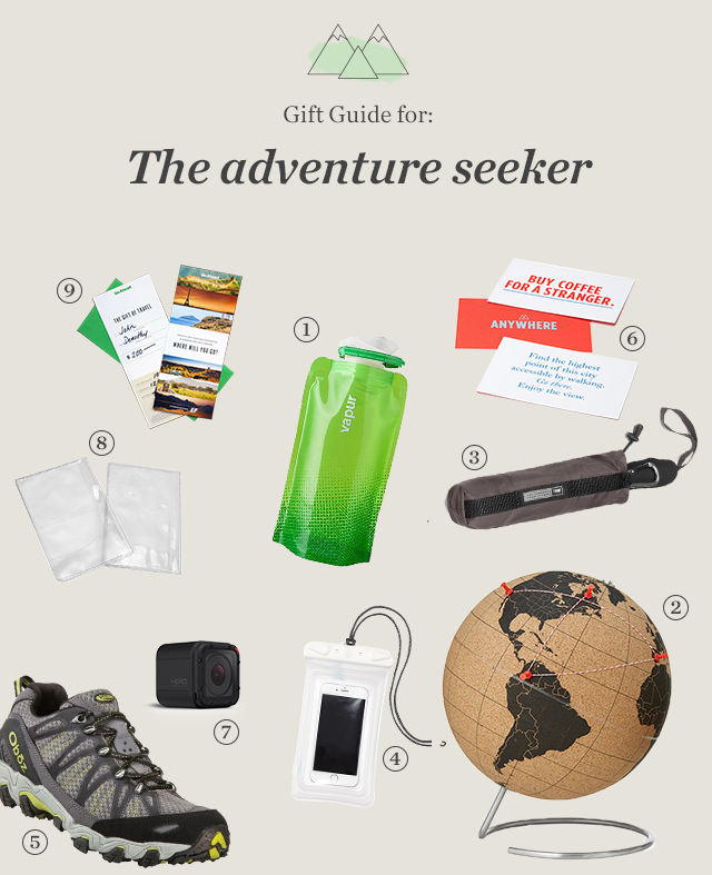 Gift Guide for the adventure seeker