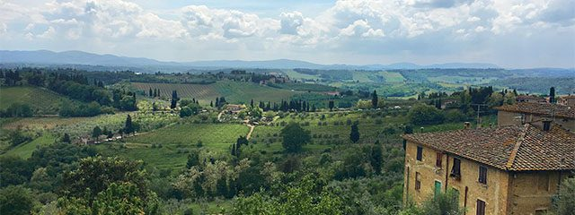 Siena and San Gimignano excursion on the Grand Tour of Italy