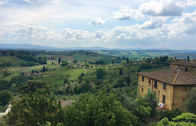 Siena and San Gimignano Tuscany excursion on the Grand Tour of Italy